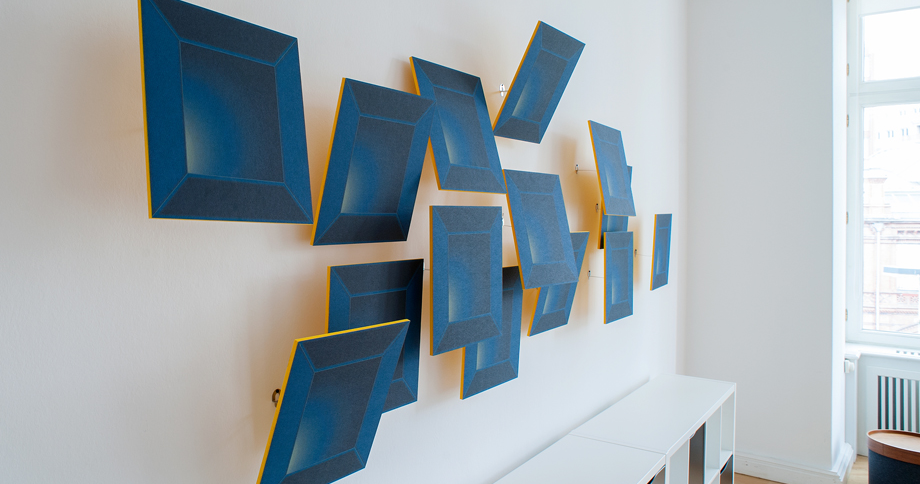 MOVIS Surfaces – Cubes in gelb und blau