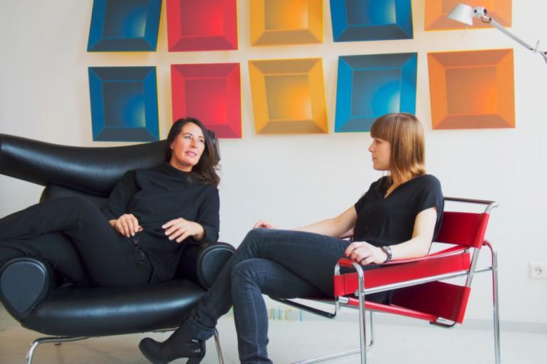 Petra Seebauer and Juliane Wernhard
